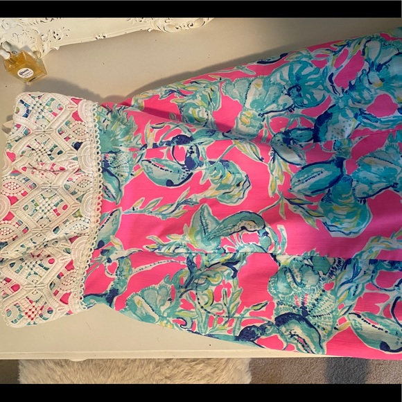 NWOT Lilly Pulitzer Brynn Strapless Dress